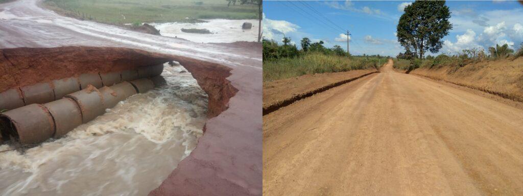 Buritirama e Prefeitura de Marabá realizam obras de melhorias na Estrada do Rio Preto