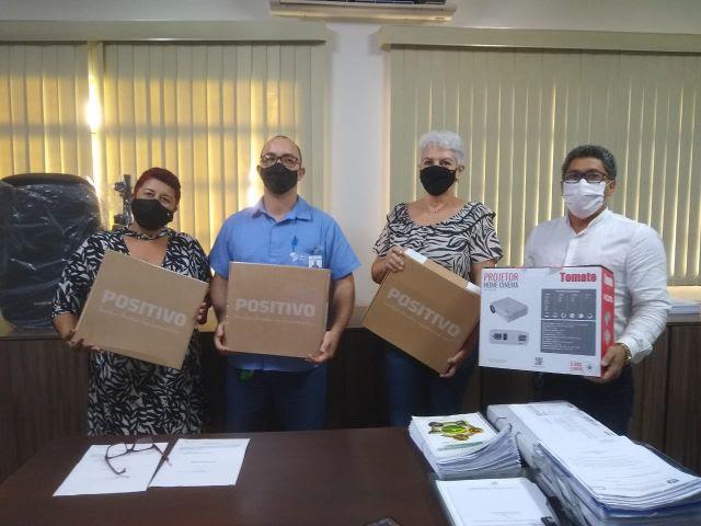 Buritirama Mineração doa equipamentos eletrônicos para Secretaria de Educação de Marabá